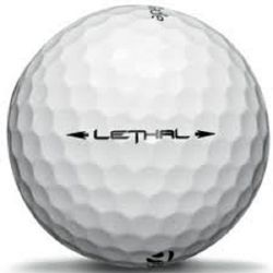 100 Pack Taylormade Lethal White Used Golf Balls