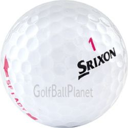 Srixon Soft Feel Lady  Pink Used Golf Ball | Wholesale Low Prices