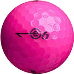 Bridgestone E6 Pink Used Golf Balls