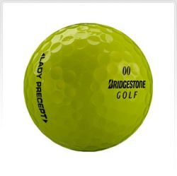 Bridgestone Lady Precept Yellow Used Golf Balls