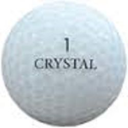 Crystal Mix Used Golf Balls