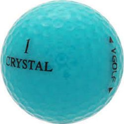 100 Mint Crystal Mix Used Golf Balls