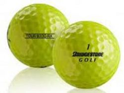 Bridgestone B330 RX Yellow Used Golf Balls