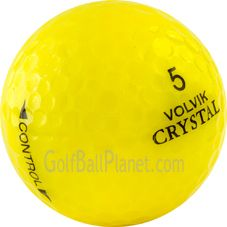 Volvik Crystal Mint Mix Used Golf Balls