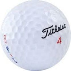 100 Titleist DT Solo Used Golf Balls
