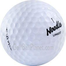 Maxfli Noodle Mix Golf Balls   Discount Used Golf Balls