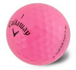 Callaway Supersoft Pink Used Golf Balls