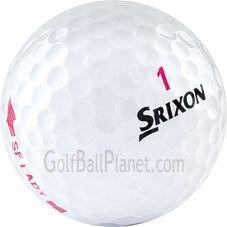 Srixon Soft Feel Lady Used Golf Balls