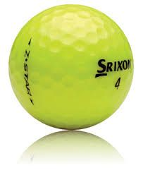 50 Srixon Z Star Yellow Used Golf Balls