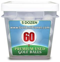 Top Flite Mix 60 Ball tub Used Golf Balls | Wholesale golf balls