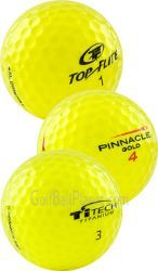 Yellow Mix Used Golf Balls | Yellow Mix Used Golf Balls