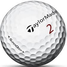 Taylormade Super Deep Used Golf Balls