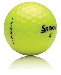 Srixon Z-STAR / Z-STAR X Yellow Mix Used Golf Balls