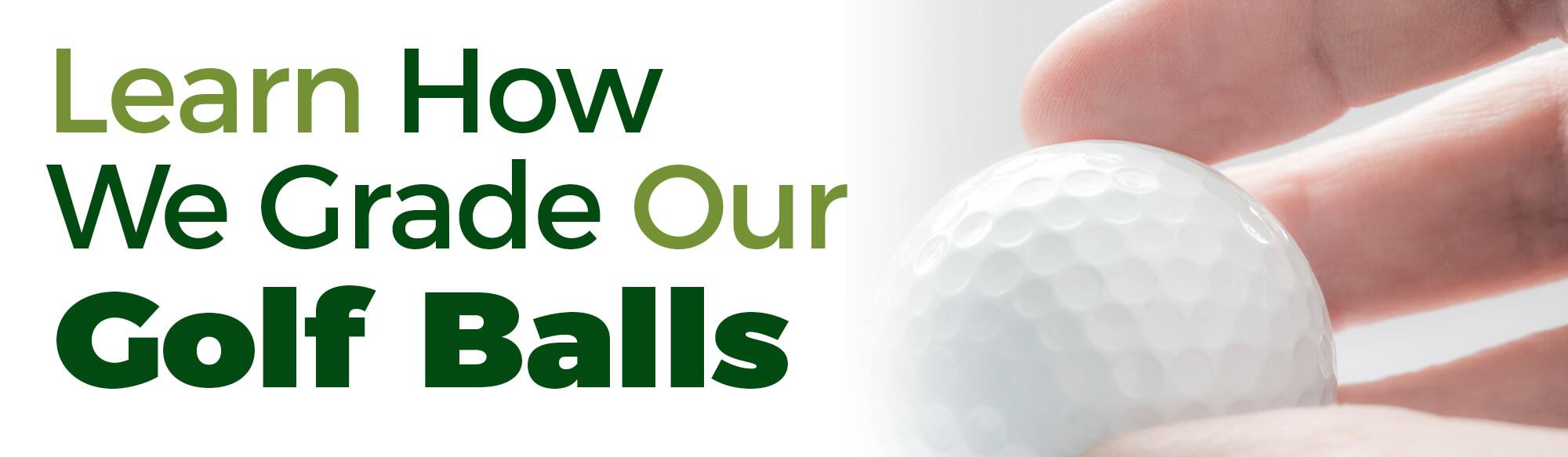 Grading Golf Balls