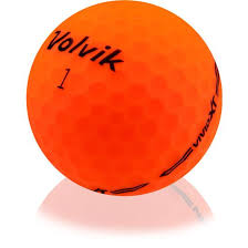 Orange Volvik Golf Balls