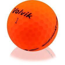 Orange Volvik Golf Balls