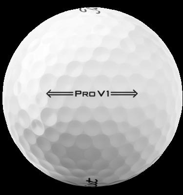 Titleist Pro V1 Golf Ball Side Stamp